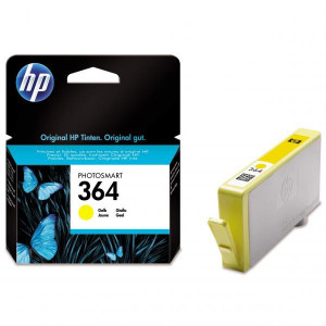 HP original ink CB320EE, HP 364, yellow, 300str., HP Photosmart B8550, C5380, D5460