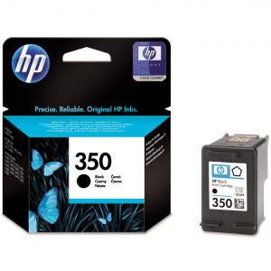 HP original ink CB335EE, HP 350, black, 4,5ml, HP Officejet J5780, J5785