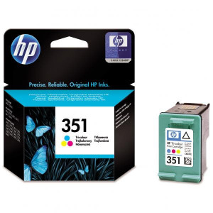 HP original ink CB337EE, HP 351, color, blister, 3,5ml, HP Officejet J5780, J5785