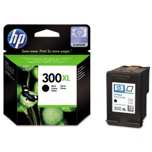 HP originál ink CC641EE, HP 300XL, black, blister, 600str., 12ml, HP DeskJet D2560, F4280, F4500