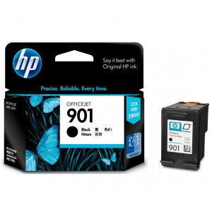 HP originál ink CC653AE, HP 901, black, blister, 200str., 4ml, HP OfficeJet J4580