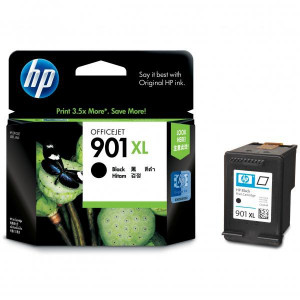 HP originál ink CC654AE, HP 901XL, black, 700str., 14ml, HP OfficeJet J4580