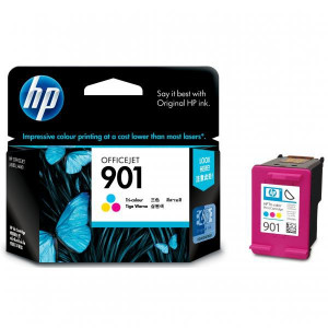 HP originál ink CC656AE, HP 901, color, 360str., 9ml, HP OfficeJet J4580