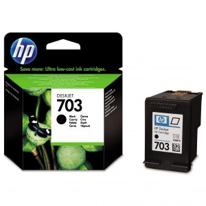 HP originál CD887AE, HP 703, black, HP Deskjet