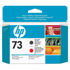 HP original ink CD949A, matte black/chromatic red, HP Designjet Z3200 Printer series