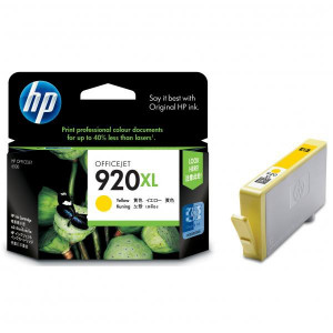 HP originál ink CD974AE, HP 920XL, yellow, 700str., HP Officejet