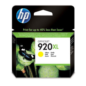 HP originál ink CD974AE, HP 920XL, yellow, blister, 700str., HP Officejet