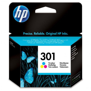 HP originál ink CH562EE, HP 301, color, blister, 165str., HP HP Deskjet 1000, 1050, 2050, 3000, 3050