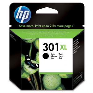 HP originál ink CH563EE, HP 301XL, black, 480str., HP HP Deskjet 1000, 1050, 2050, 3000, 3050