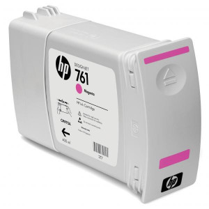 HP original ink CM993A, magenta, 400ml, HP 761, HP DesignJet T7100