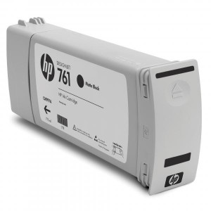 HP original ink CM997A, matte black, 775ml, HP 761, HP DesignJet T7100