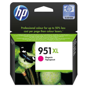 HP original ink CN047AE, HP 951XL, magenta, 1500str., 17ml, HP Officejet Pro 276dw, 8100 ePrinter,8620