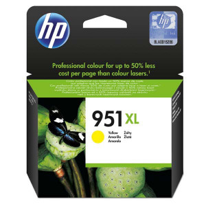 HP original ink CN048AE, HP 951XL, yellow, 1500str., 17ml, HP Officejet Pro 276dw, 8100 ePrinter,8620