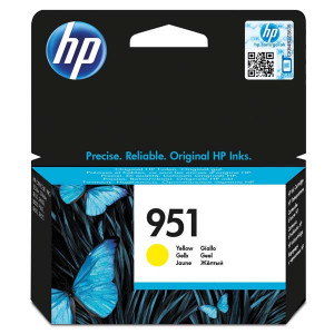 HP original ink CN052AE, HP 951, yellow, 700str., pre HP Officejet Pro276dw, 8100 ePrinter