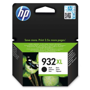 HP original ink CN053AE, HP 932XL, black, blister, HP