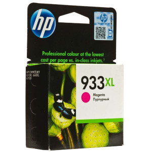 HP original ink CN055AE, HP 933XL, magenta, 825str., HP Officejet 6100, 6600, 6700, 7110, 7610, 7510