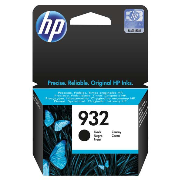 HP original ink CN057AE, HP 932, black, 400str., HP Officejet 6100, 6600, 6700, 7110, 7610, 7510