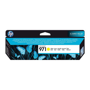 HP original ink CN624AE, yellow, 2500str., HP 971, HP Officejet Pro X451dn, X451dw, X476dn MFP, X476dw