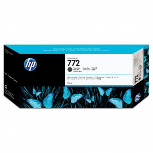 HP original ink CN635A, matte black, 300ml, HP 772, HP