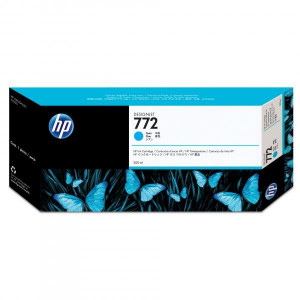 HP original ink CN636A, HP 722, cyan, 300ml, HP