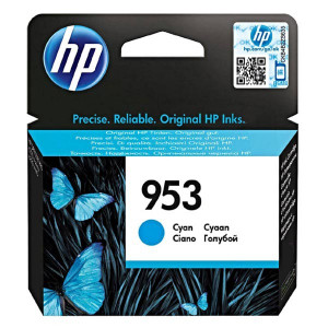 HP original ink F6U12AE, cyan, 700str., 10ml, HP 953, HP OJ Pro 8218,8710,8720,8740