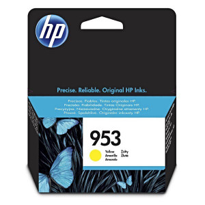 HP originál ink F6U14AE, yellow, 700str., 10ml, HP 953, HP OJ Pro 8218,8710,8720,8740