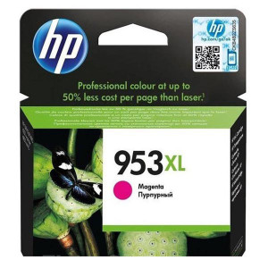 HP original ink F6U17AE, HP 953XL, magenta, 1600str., 20ml, high capacity, HP OfficeJet Pro 8218,8710,8720,8730,8740