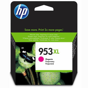 HP original ink F6U17AE, HP 953XL, magenta, blister, 1600str., 20,5ml, high capacity, HP