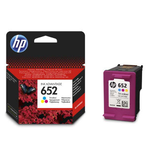 HP originál ink F6V24AE, HP 652, color, 200str., HP DeskJet IA 4530, 4535, 4675, 1115, 2135, 3635