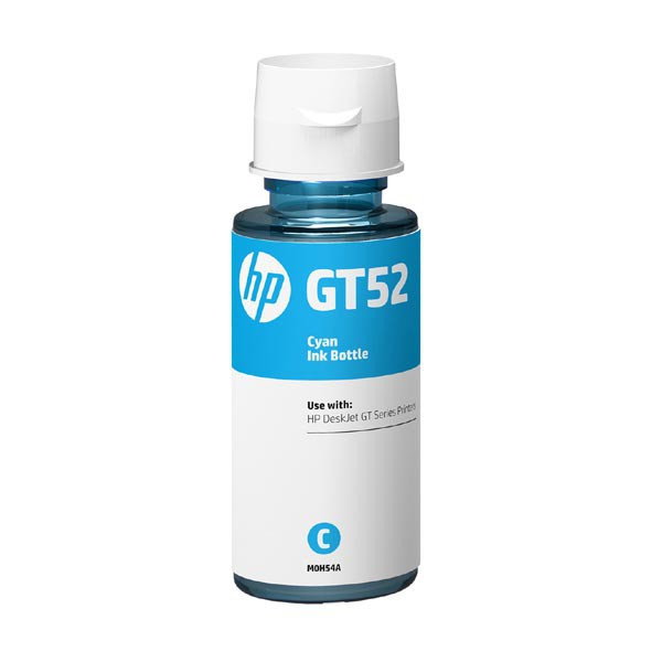 HP original ink bottle M0H54AE, HP GT52, cyan, 8000str., 70ml, HP DeskJet GT serie, Cronos
