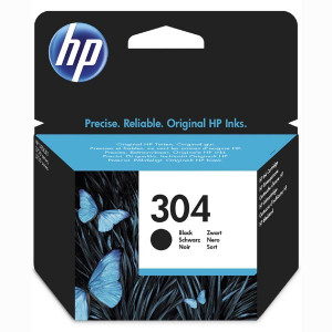 HP originál ink N9K06AE, HP 304, black, 120str., HP DeskJet 2620,2630,2632,2633,3720,3730,3732,3735