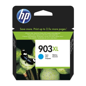 HP original ink T6M03AE, HP 903XL, cyan, blister, 825str., 9.5ml, high capacity, HP Officejet 6962,Pro 6960,6961,6963,6964,6965,69