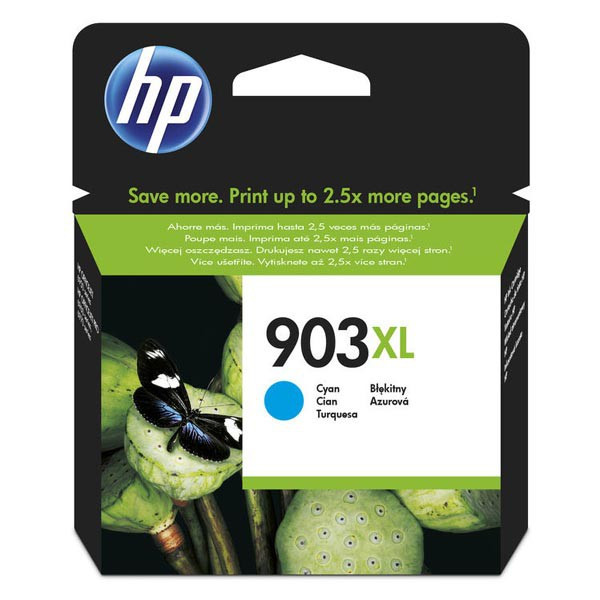 HP original ink T6M03AE, HP 903XL, cyan, 825str., 9.5ml, high capacity, HP Officejet 6962,Pro 6960,6961,6963,6964,6965,6966