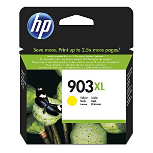 HP original ink T6M11AE, HP 903XL, yellow, 825str., 9.5ml, high capacity, HP Officejet 6962,Pro 6960,6961,6963,6964,6965,6966