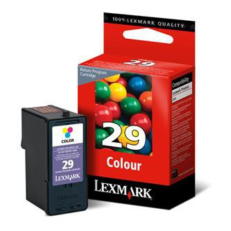 Lexmark original ink 18C1429E, #29, color, return, Lexmark Z845, P350, Z1300, Z1320