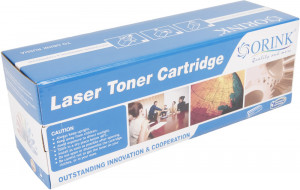 HP compatible toner cartidge CF532A, 900 yield (Orink white box)