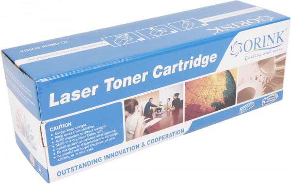 HP compatible toner cartridge CF532A, 900 yield (Orink white box)