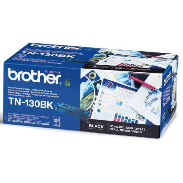 Brother original toner TN130BK, black, 2500str., Brother HL-4040CN, 4050CDN, DCP-9040CN, 9045CDN, MFC-9440C, O