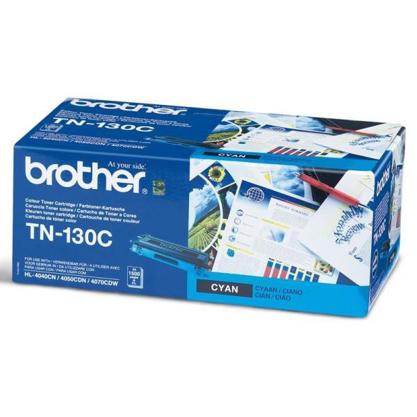 Brother originál toner TN130C, cyan, 1500str., Brother HL-4040CN, 4050CDN, DCP-9040CN, 9045CDN, MFC-9440C