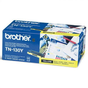 Brother original toner TN130Y, yellow, 1500str., Brother HL-4040CN, 4050CDN, DCP-9040CN, 9045CDN, MFC-9440C, O