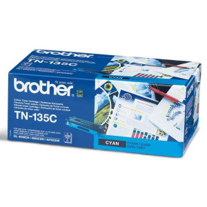 Brother original toner TN135C, cyan, 4000str., Brother HL-4040CN, 4050CDN, DCP-9040CN, 9045CDN, MFC-9440C, O