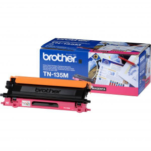 Brother original toner TN135M, magenta, 4000str., Brother HL-4040CN, 4050CDN, DCP-9040CN, 9045CDN, MFC-9440C, O