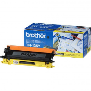 Brother original toner TN135Y, yellow, 4000str., Brother HL-4040CN, 4050CDN, DCP-9040CN, 9045CDN, MFC-9440C, O