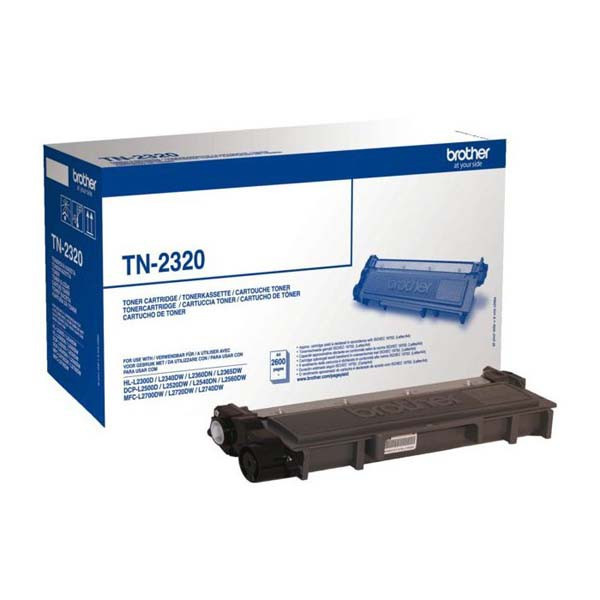 Brother original toner TN2320, black, 2600str., Brother DCP-L25xx, MFC-L27xx, O