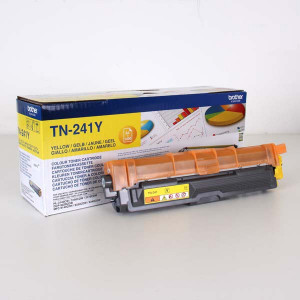 Brother original toner TN241Y, yellow, 1400str., Brother HL-3140CW, 3170CW, O