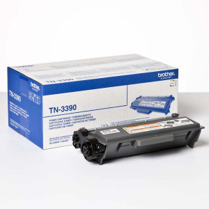 Brother original toner TN3390, black, 12000str., Brother HL-6180, DCP-8250, O