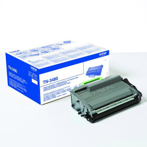 Brother original toner TN3480, black, 8000str., Brother HL-L6400DW, O