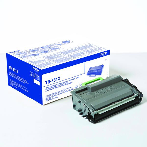 Brother original toner TN3512, black, 12000str., Brother HL-L6400DW, O