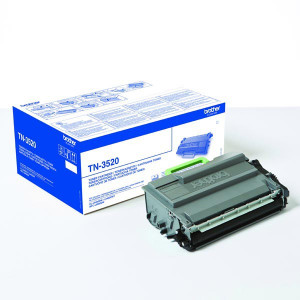 Brother original toner TN3520, black, 20000str., Brother HL-L6400DW, O