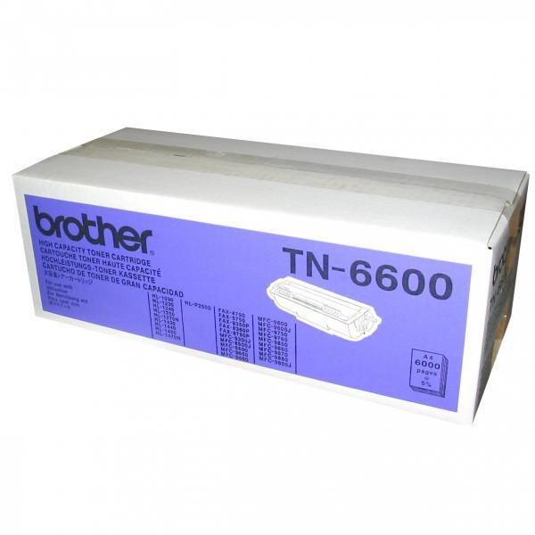 Brother originál toner TN6600, black, 6000str., Brother HL-1240, 1250, 1270N, 1440, MFC-9650, 9850